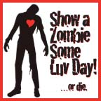 1 Zombie Love Badge